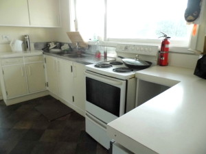 Darfield Hostel Kitchen